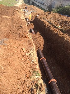 Replacement of a DN300 cesspool in Ginosa (TA) residential area on behalf of AQP (1)